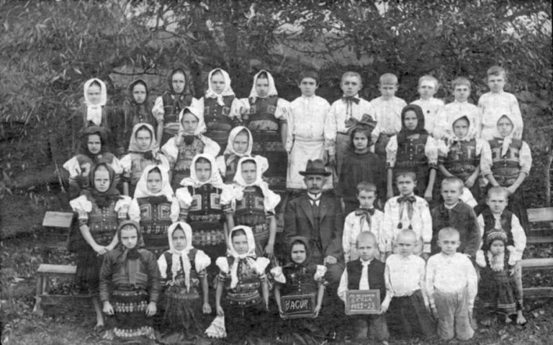 Školská trieda v roku 1922