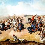 Koncom apríla 1849 sa pri Komárne rozpútala bitka, ktorú cisárske vojsko prehralo.
