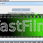 FastFilm: Sledujte priebeh sťahovania matriky.