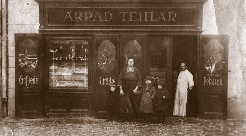 Pekárenská predajňa z 30-tych rokov 20. storočia.