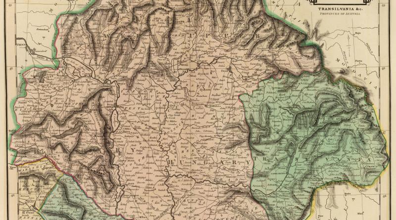 Historická mapa Uhorska 1831
