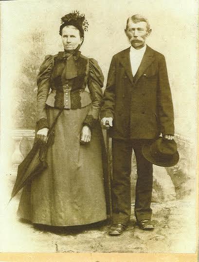Zamilovaný pár z 19. storočia