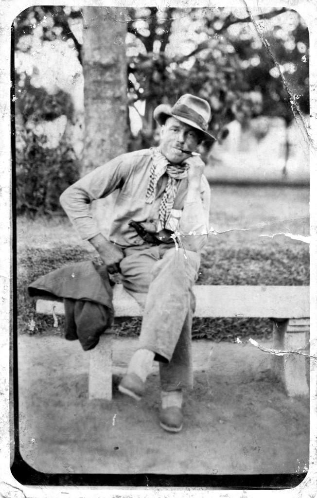 Pohľadnica z Argentíny z roku 1928