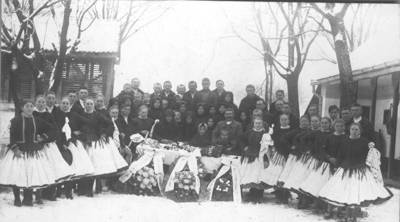 Roľnícky spevokol na pohrebe