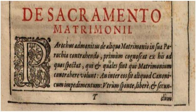 O Sviatosti manželstva v minulosti