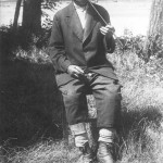 Portrét muža zo začiatku 20. storočia