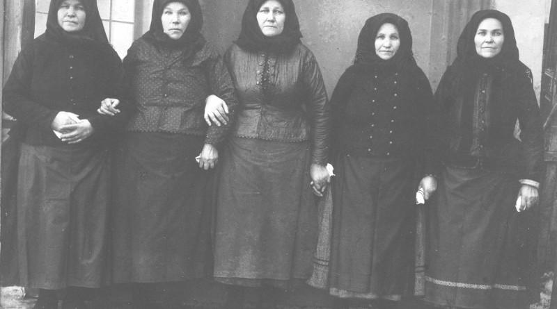 Pazovské ženy v roku 1929