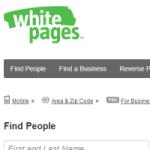 Najväčší telefóny zoznam: White Pages
